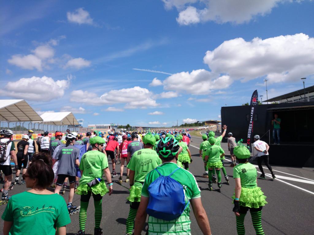 24h du Mans Roller - Parade